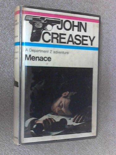 9780091107604: Menace (A Department Z adventure)