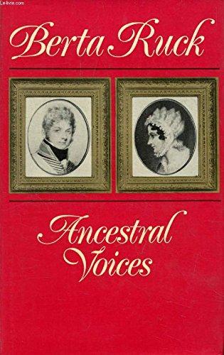 9780091109608: Ancestral Voices