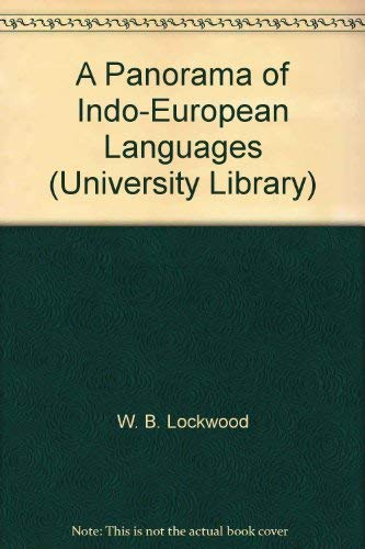 9780091110208: A Panorama of Indo-European Languages (University Library)