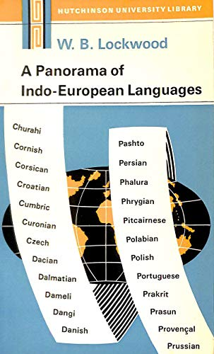 9780091110215: A panorama of Indo-European languages (Modern languages)