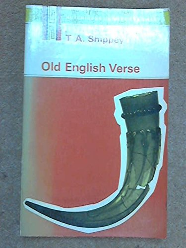 Old English verse, (0091110319) by Shippey, T. A