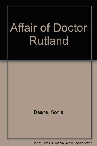 9780091111205: The affair of Doctor Rutland