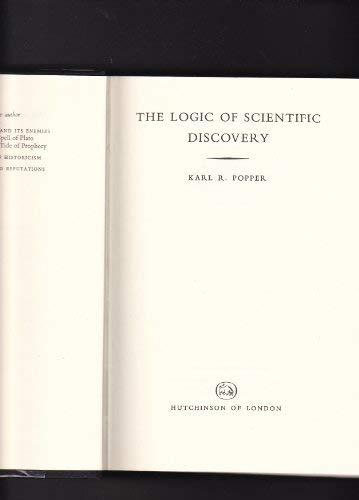 The Logic of Scientific Discovery (Radius Books): Popper, Sir Karl