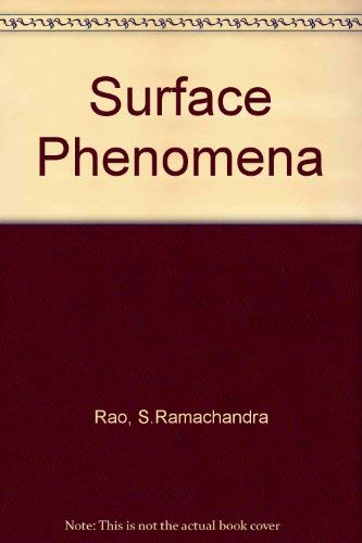 9780091123000: Surface Phenomena