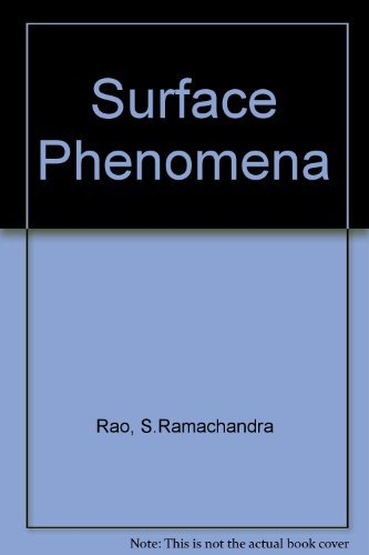 9780091123017: Surface Phenomena