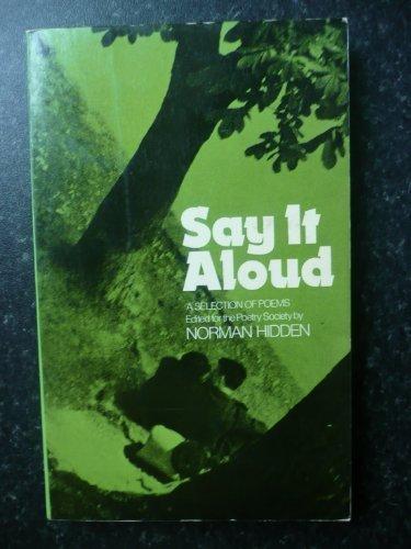 9780091123512: Say it Aloud