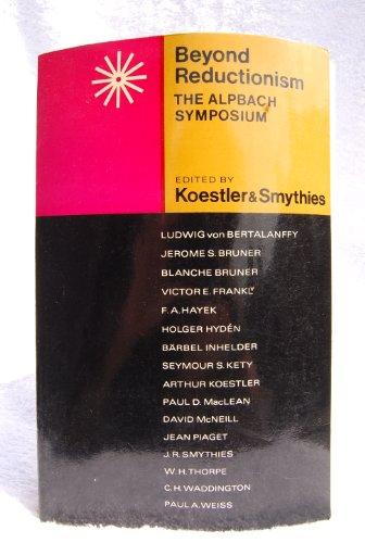 9780091124113: Beyond Reductionism: The Alpbach Symposium (Radius Books)
