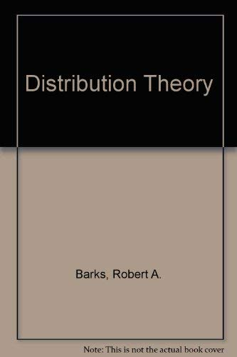 9780091128104: Distribution Theory