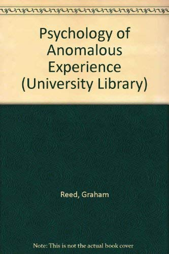 9780091132415: The psychology of anomalous experience: A cognitive approach