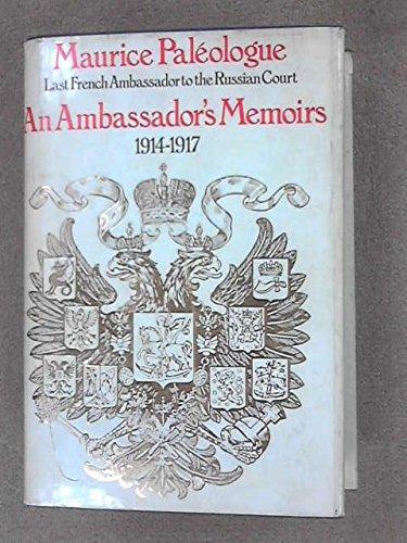 9780091136604: Ambassador's Memoirs, 1914-17