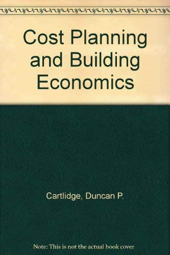 9780091145200: Cost planning and building economics