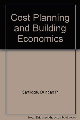 9780091145217: Cost Planning and Building Economics