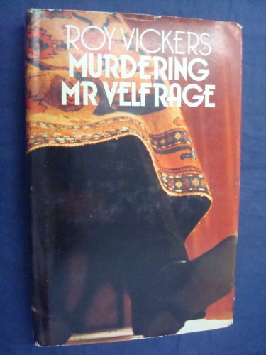 9780091153700: Murdering Mr Velfrage