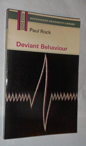 9780091154417: Deviant Behaviour (University Library)