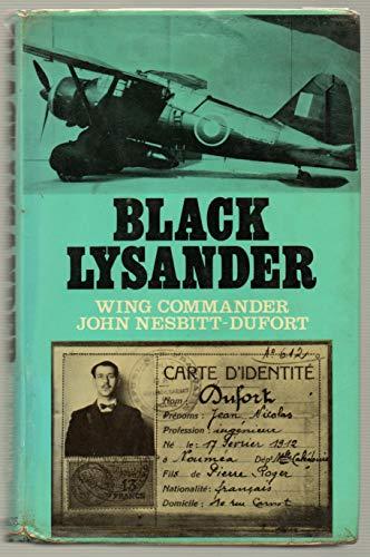 9780091156701: Black Lysander