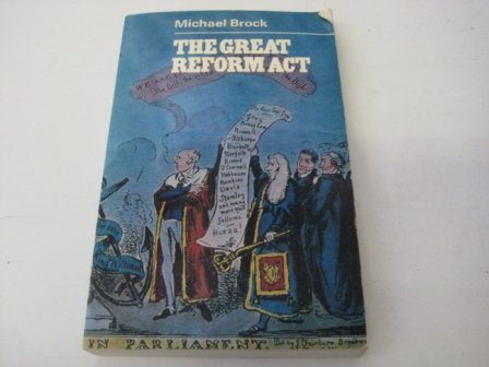 9780091159115: Great Reform Act (University Library)
