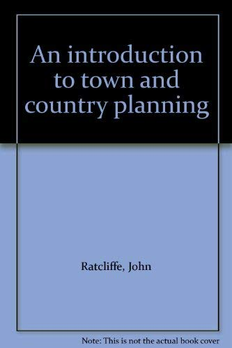 9780091167608: Introduction to Town and Country Planning ([The built environment])