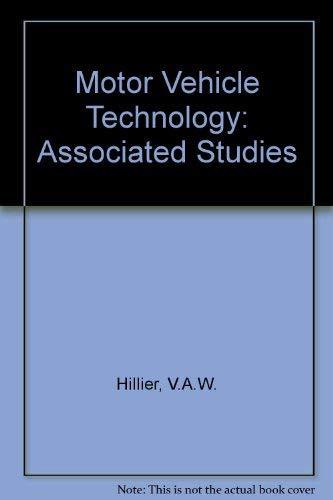 9780091170905: Motor vehicle technology: Associated studies