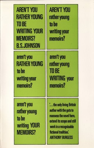 9780091181413: Aren't you rather young to be writing your memoirs?