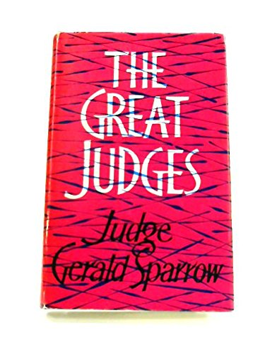 9780091181901: The great judges