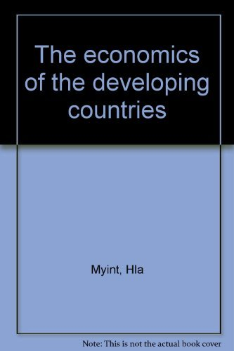 9780091182601: The economics of the developing countries (Hutchinson university library : Economics)