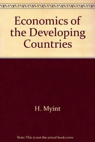 9780091182618: Economics of the Developing Countries