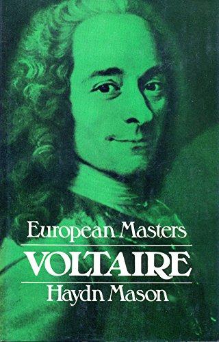 9780091214906: Voltaire (European masters)