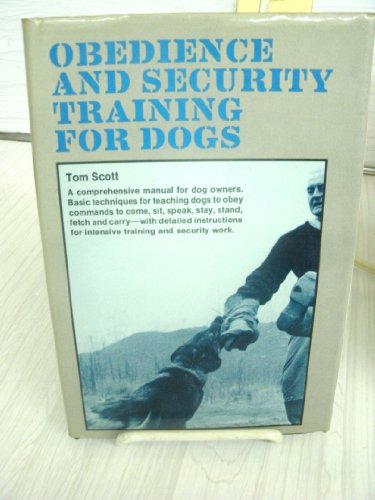 9780091216801: Obedience and Security Training for Dogs