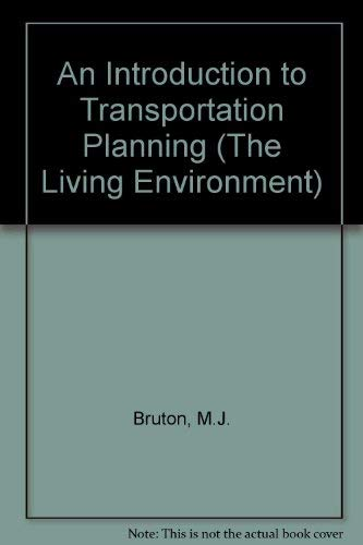 9780091224615: Introduction to transportation planning (The Built environment series)