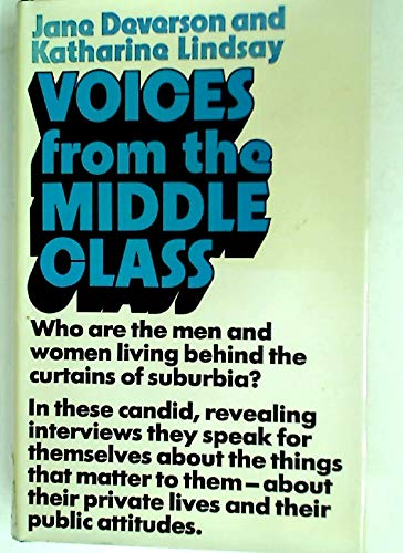 9780091235000: Voices from the Middle Class: Study of Families in Two London Suburbs