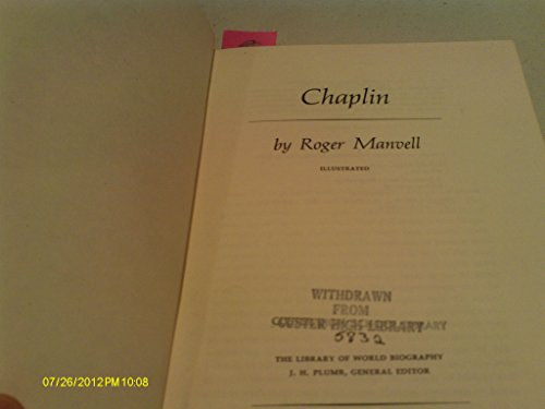 9780091238001: Chaplin (The Library of world biography)