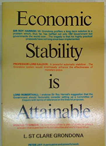 9780091239510: Economic Stability is Attainable