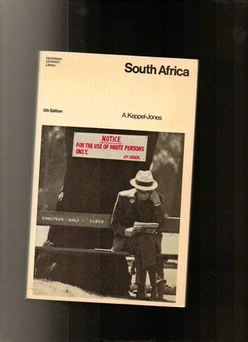 9780091239916: South Africa (University Library)
