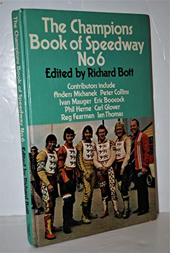 9780091240509: The Champions Book of Speedway