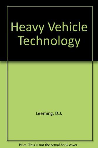 9780091245405: Heavy Vehicle Technology
