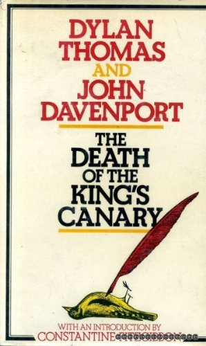 9780091275105: The death of the king's canary