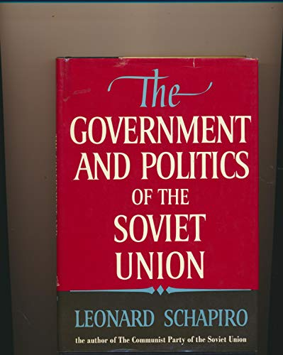 9780091317201: Government and Politics of the Soviet Union