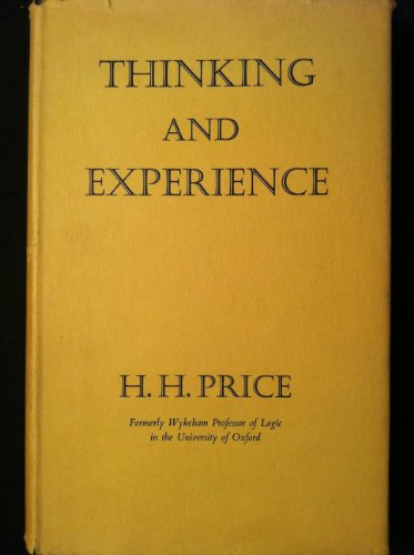 9780091320904: Thinking and Experience