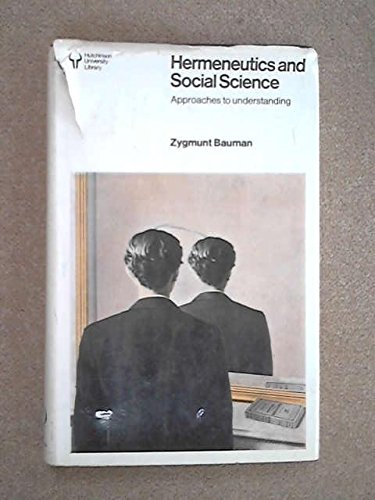 9780091325305: Hermeneutics and Social Science (University Library)