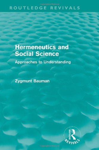 9780091325312: Hermeneutics and social science: Approaches to understanding