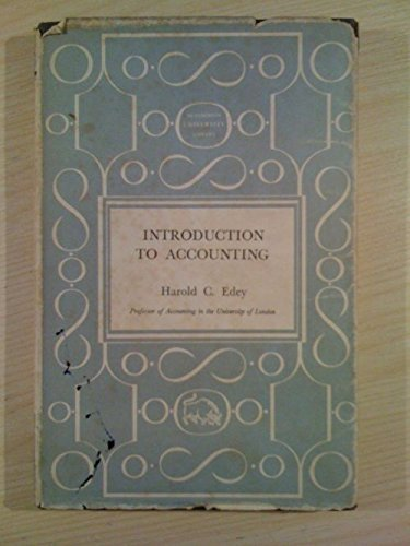 9780091325800: Introduction to accounting
