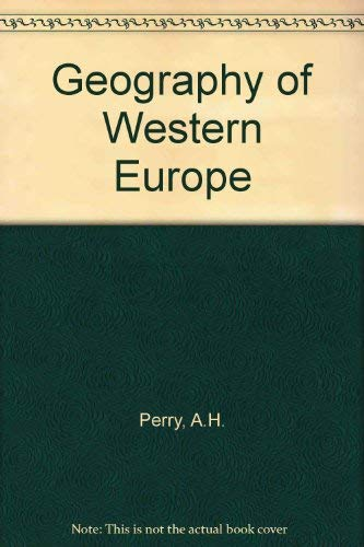 9780091363819: Geography of Western Europe