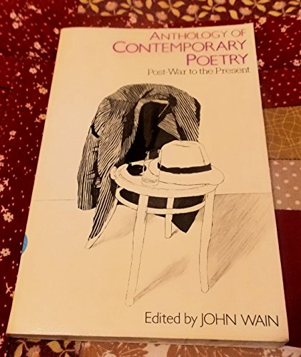 9780091386511: Anthology of Contemporary Poetry: Post-war to the Present