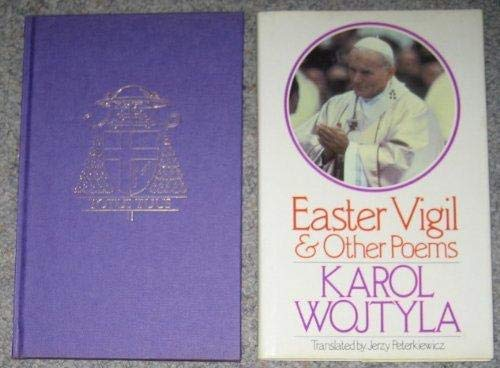 9780091388003: Easter Vigil and Other Poems