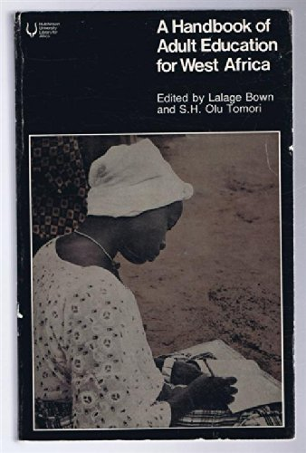 9780091388119: A Handbook of adult education for West Africa (Hutchinson university library for Africa)