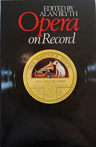 9780091399801: Opera on Record (v. 1)
