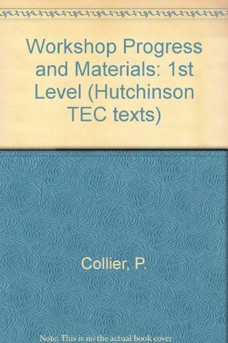9780091404918: Workshop Progress and Materials: 1st Level