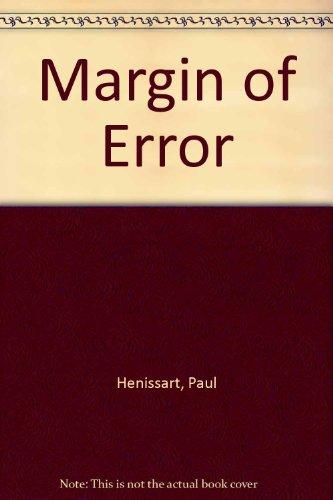 9780091407209: Margin of Error