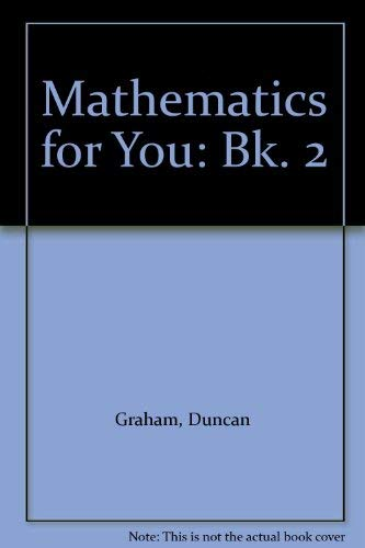 9780091410513: Mathematics for You: Bk. 2