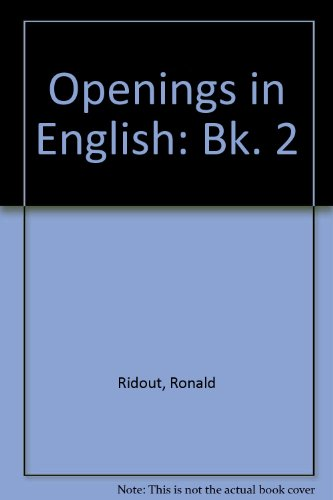 9780091427719: Openings in English: Bk. 2